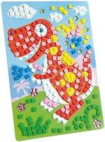 Мозайка - Динозавър - Творчески комплект -