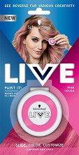 Schwarzkopf Live Paint It! - Тебешир за коса за временни цветни кичури -