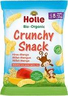 Био снакс с просо и манго - Organic Crunchy Snack - Опаковка от 25 g за бебета над 8 месеца - продукт