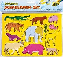 Шаблони за рисуване - Животни -