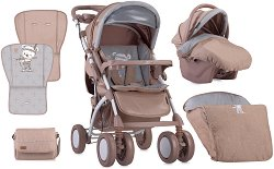 Бебешка количка 2 в 1 - Toledo Set - С 4 колела - количка