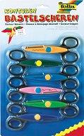 Ножици за декоративно рязане - Комплект от 6 броя