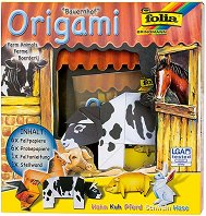 Оригами - Животните от фермата - играчка