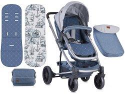 Комбинирана бебешка количка - S500 2018 - С 4 колела - количка