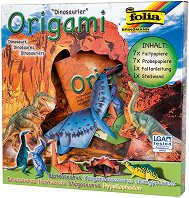 Оригами - Динозаври - Творчески комплект -