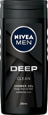 Nivea Men Deep Clean Shower Gel - душ гел