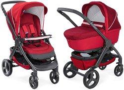 Бебешка количка 2 в 1 - Duo StyleGo Up - С 4 колела -
