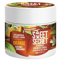 """Farmona Sweet Secret Regenerating Body Cream Orange - Крем за тяло с аромат на портокал от серията """"Sweet Secret"""" - продукт"""