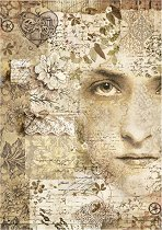 Декупажна хартия - Лице - Формат А4