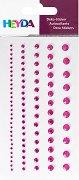 Декоративни стикери - Розови камъчета