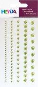Декоративни стикери - Зелени камъчета