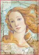 Декупажна хартия - Раждането на Венера - Формат А4