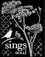 Шаблон - Песента на душата - Размери 20 х 25 сm