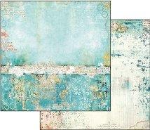 Хартия за скрапбукинг - Страната на чудесата - Размери 30.5 х 30.5 cm
