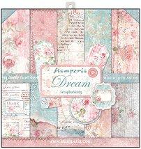 Хартия за скрапбукинг - Мечта - Комплект от 10 броя с размери 30.5 x 30.5 cm