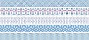 Декоративно мини тиксо - Светло синьо