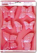 3D Форма - Пеперуди - Размери 21 x 29.7 cm