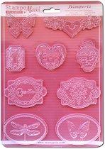 3D Форма - Ключалки и насекоми - Размери 21 x 29.7 cm