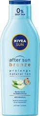 Nivea Sun After Sun Bronze Tan Lotion - продукт