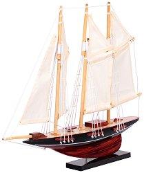 Atlantis - Декоративен кораб от дърво -