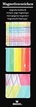 Мини магнитни разделители за книга - Цветове -