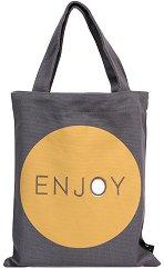Текстилна чанта за книги - Enjoy -