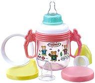 Преходна чаша със силиконов накрайник 5 в 1 - 250 ml - За бебета над 3 месеца - продукт