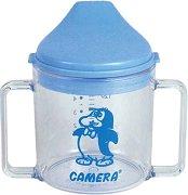 Преходна чаша с твърд накрайник и дръжки - 180 ml - За бебета над 6 месеца -