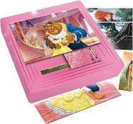"""Принцесите на Дисни - 9 пъзела в кутия от серията """"Carotina Baby"""" - играчка"""