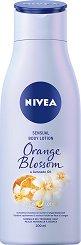 Nivea Orange Blossom & Avocado Oil Body Lotion - Лосион за тяло с масло от авокадо и аромат на портокалов цвят - продукт
