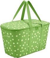 """Сгъваема хладилна чанта - От серията """"Allrounder: Зелени точки"""""""