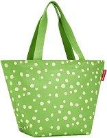 """Универсална чанта за рамо - От серията """"Allrounder: Зелени точки"""""""