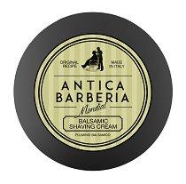 "Mondial Antica Barberia Balsamic Shaving Cream - Балсамов крем за бръснене от серията ""Antica Barberia"" - четка"