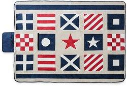 Одеяло за пикник - Navy - Размери - 130 x 180 cm