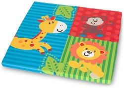 Сгъваем матрак за бебешко креватче - Sleeper SQ - Размер 90 x 90 cm - продукт
