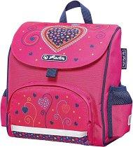 Раница за детска градина - Pink Hearts - несесер