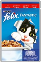 Felix Fantastic with Beef in Jelly -