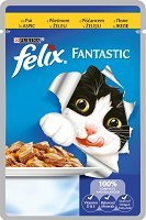 Felix Fantastic with Chicken in Jelly -