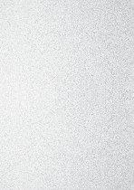 Брокатен картон - Бял