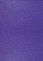 Брокатен картон - Тъмно лилав - Формат А4