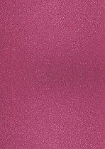 Брокатен картон - Розов - Формат А4