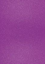 Брокатен картон - Виолетов - Формат А4