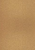 Брокатен картон - Цвят шампанско - Формат А4