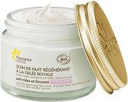 """Fleurance Nature Royal Jelly Regenerating Night Cream - Регенериращ нощен крем за лице за суха кожа с пчелно млечице от серията """"Royal Jelly"""" -"""