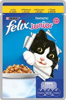 Felix Fantastic Junior with Chicken in Jelly -