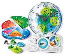 Как работи часовника? - Образователен комплект - детски аксесоар