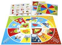 Въртележката на сезоните и Памет - Комплект от 2 образователни игри -