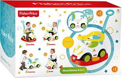 Детска кола за бутане 4 в 1 - Smile Car -