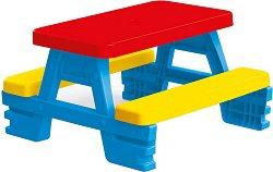 Детска маса с 2 пейки - играчка