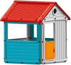 Детска сглобяема къща за игра - Размери 104 / 132 / 123 cm - играчка